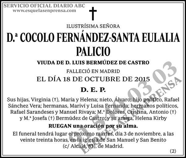 Cocolo Fernández-Santa Eulalia Palicio